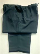 f7674c9a0e2 1635 Dámské šedo-zelenkavé kalhoty - boky 130 cm - SLEVA!