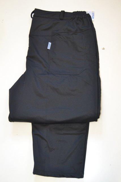 7723982095a 4083 Pánské softshellové černé kalhoty - vel. 2 - 6XL