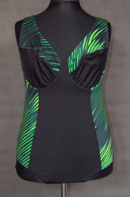 3519ebb2236 1525 Dámské jednodílné plavky - vel. 56 - Prodej oblečení nadměrných ...